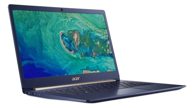 Ноутбук Acer Swift 5 легче килограмма вышел в России