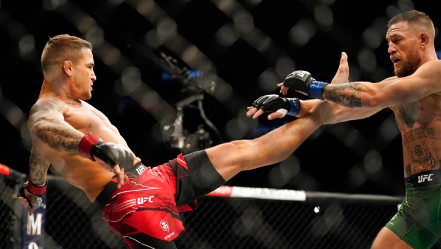 Dustin Porrier analyzed the guillotine from Conor McGregor