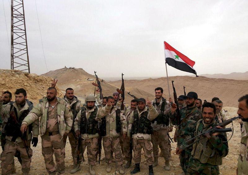Le groupe Etat islamique en Syrie est chassé de Palmyre