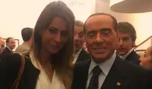 Matilde Siracusano e Silvio Berlusconi