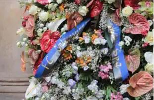 corona Inter funerale Moratti