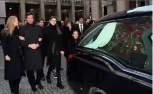 Famiglia funerali Moratti
