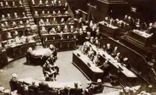 il senato del regno