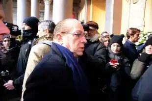 Paolo Berlusconi funerali Moratti