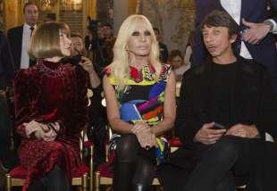 Wintour, Versace e Piccioli al Moma