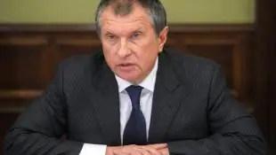Igor Sechin di rosneft