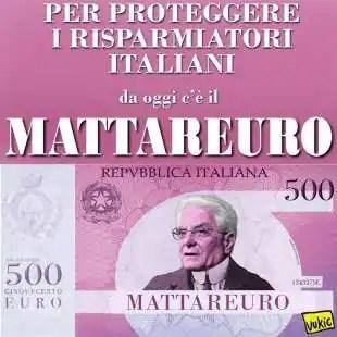 MATTARELLA EURO