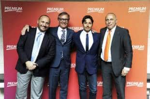 Marco Rosini (Direttore Commerciale Mediaset Premium) - Franco Ricci (AD Mediaset Premium) – Pier Silvio Berlusconi (Vice Presidente e Amministratore Delegato Mediaset) - Yves Confalonieri (Direttore