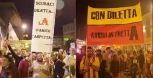TIFOSI BENEVENTO DILETTA LEOTTA