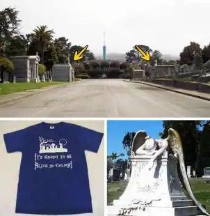 colma la citta dei cimiteri
