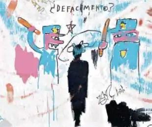 defacement jean michel basquiat