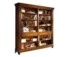 Libreria in legno massello ordine alla cultura  Dalani e