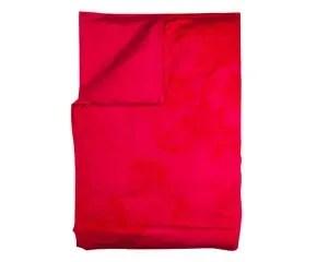 Energiek opstaan met een rood dekbedovertrek  Westwing