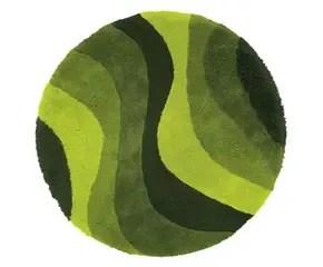 Een groen tapijt Warm en natuurlijk op de vloer  Westwing