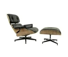 kohl lounge chair met voetenbank white dining room chairs vind hier je design eames mét korting westwing