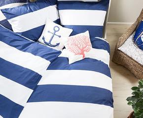 Textilien mit ScandiMustern Bettwsche Kissen und Plaids  Westwing Home  Living