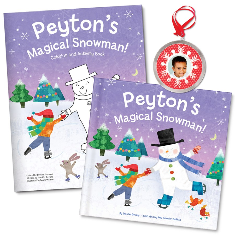 My Magical Snowman All-In-One Gift Set | Personalised Christmas Gift For Kids