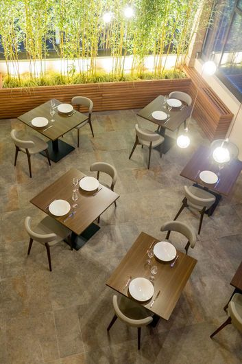 Restaurant La Maison Du Gourmet Italy Keope Ceramic Tiles