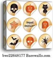 halloween decorations tombstone canvas