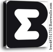 bm b m monogram