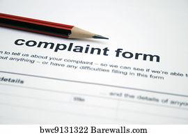 Art Print of Employee complaint form | Barewalls Posters & Prints ...