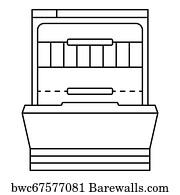 2 366 dishwasher icon