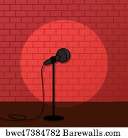 680 stand up comedy stage posters and