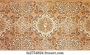 free arabic art prints