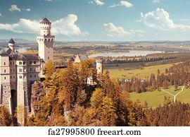 Free Beautiful Fantasy Castle Art Prints and Wall Artwork FreeArt