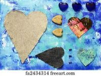 Free Different Hearts Art Prints and Wall Art | FreeArt