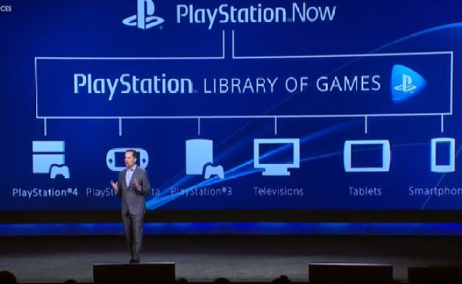 Sony Announces Playstation Now A New Game Streaming