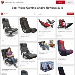 gaming chair reviews 2016 queen rental best rated video chairs pearltrees on pinterest