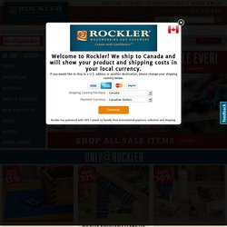 Rockler Shipping Canada