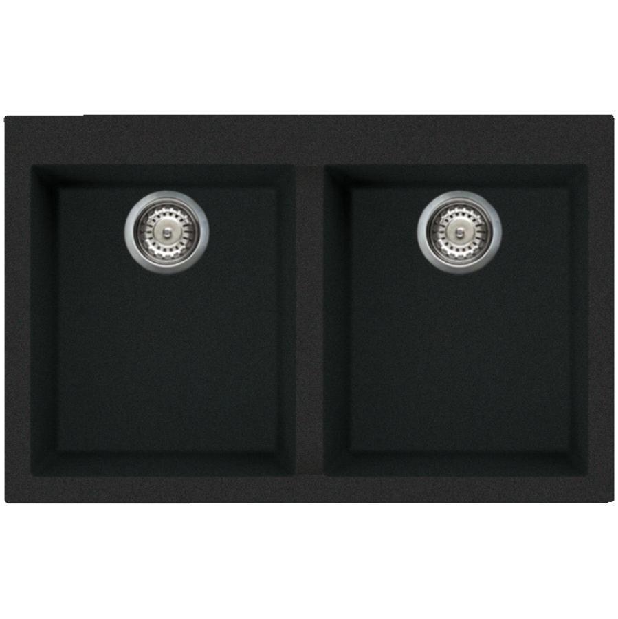 black kitchen sinks 19x33 sink home hardware 20 7 8 x 31 1 2 anthracite drop
