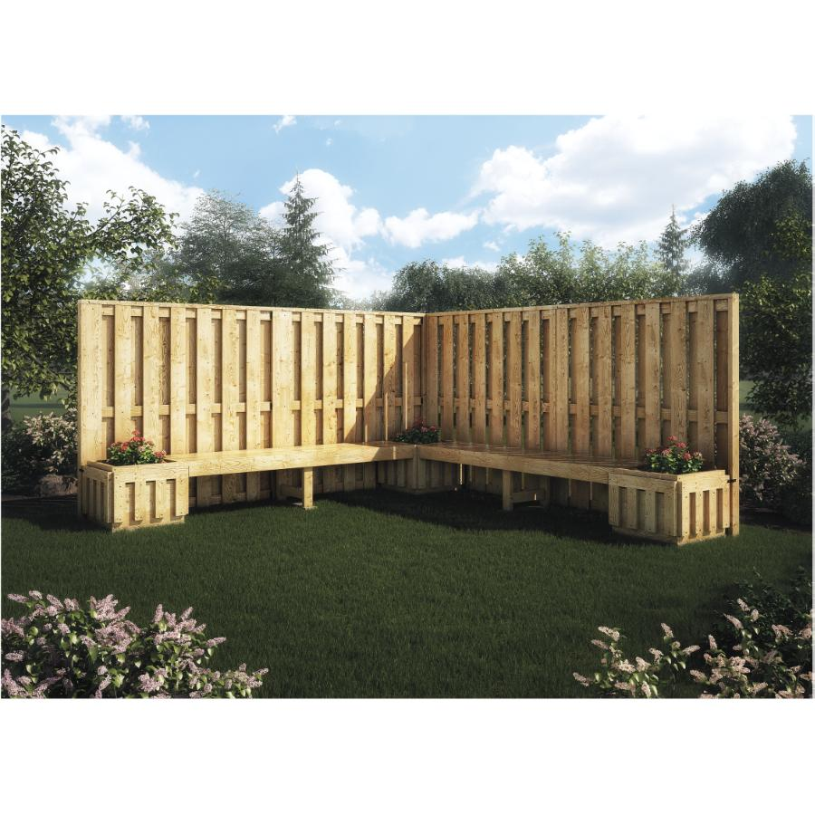 free standing fence package