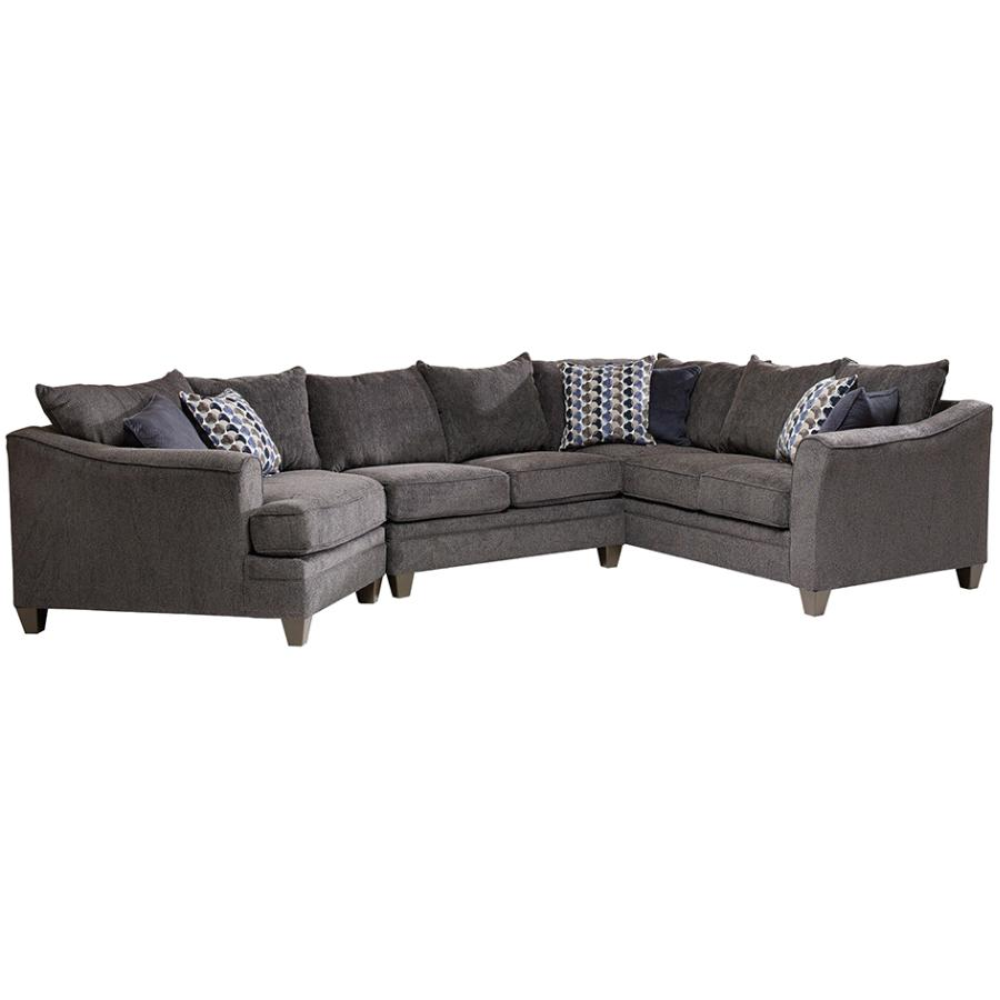 albany leather sofa ohs bean bag cover 3 piece slate sectional home hardware canada product image