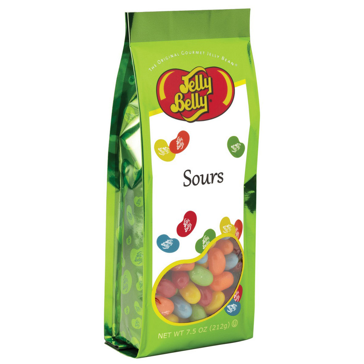 Sours Jelly Beans 75 oz Gift Bag