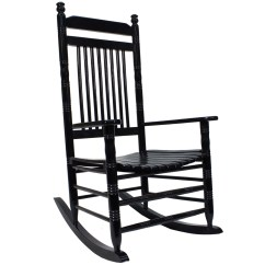 Cracker Barrel Rocking Chair Reviews Wedding Reception Covers And Sashes Indoor Wooden Chairs Old Country Store Slat Black