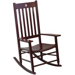 What Is A Rocking Chair Black And White Indoor Wooden Chairs Cracker Barrel Old Country Store Team Color Texas M