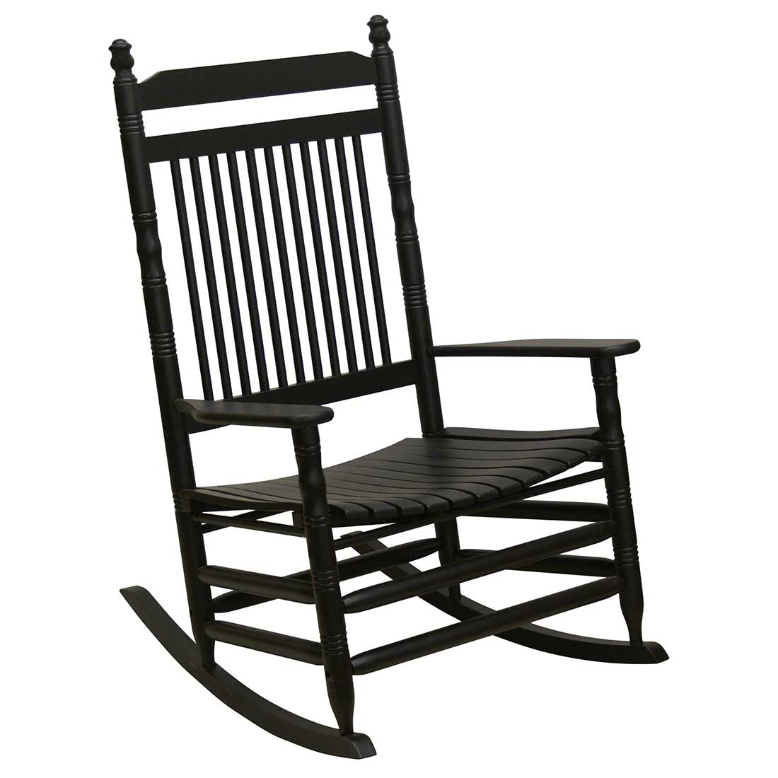 white wood rocking chair munchkin potty indoor wooden chairs cracker barrel old country store jumbo slat black