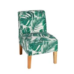 Upholstered Slipper Chair Office Height Palm Christmas Tree Shops And That