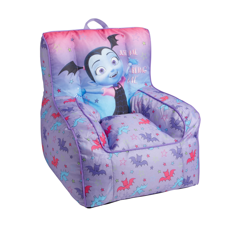 childrens bean bag chairs white plastic patio stackable disney vampirina children s chair christmas tree shops amp reg