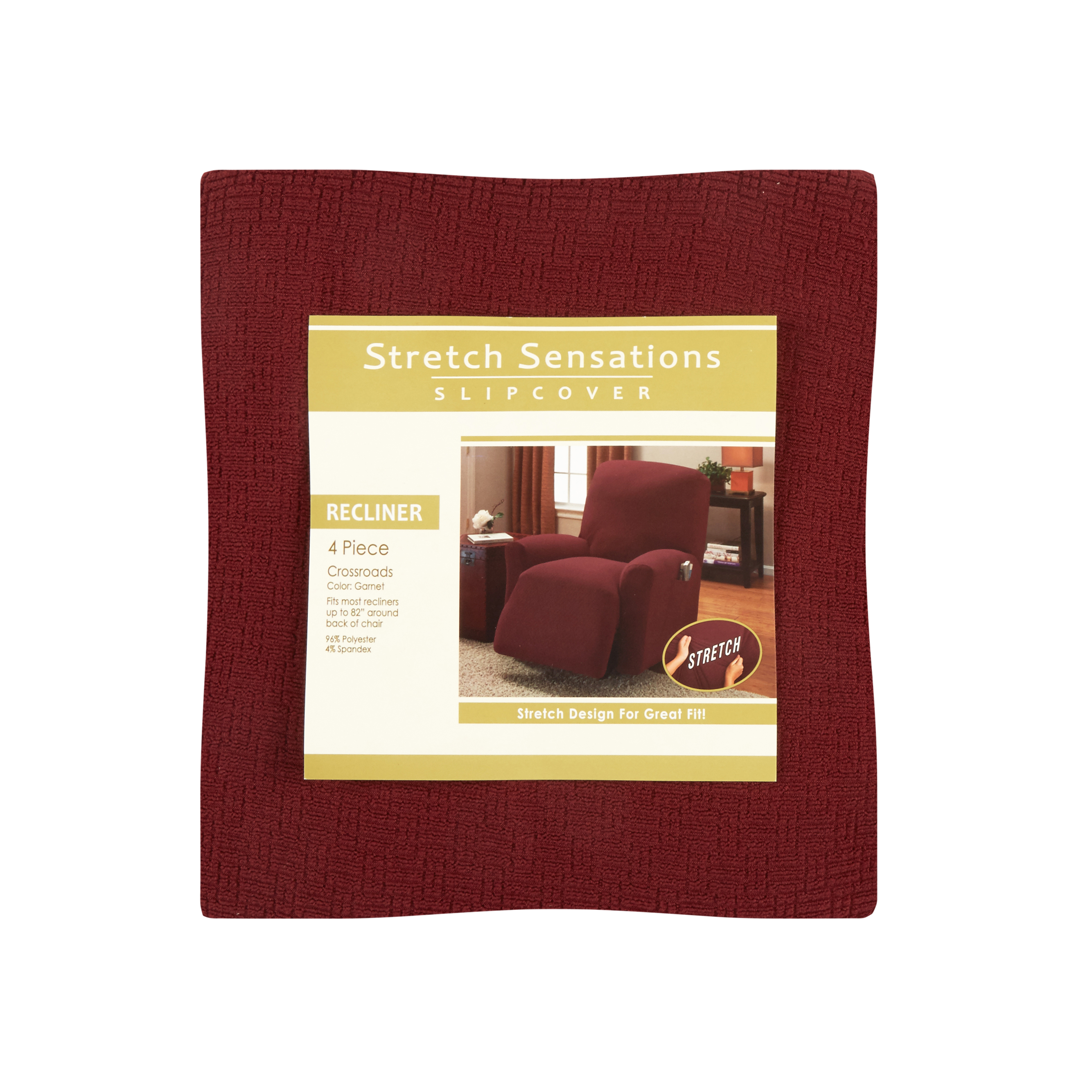 christmas chair covers ireland lounge umbrella shop slipcovers and furniture protectors tree shops solid stretch crosshatch recliner slipcover view 1