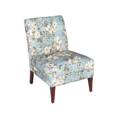 Upholstered Slipper Chair Futon Lounge Floral Tufted Christmas Tree Shops And That