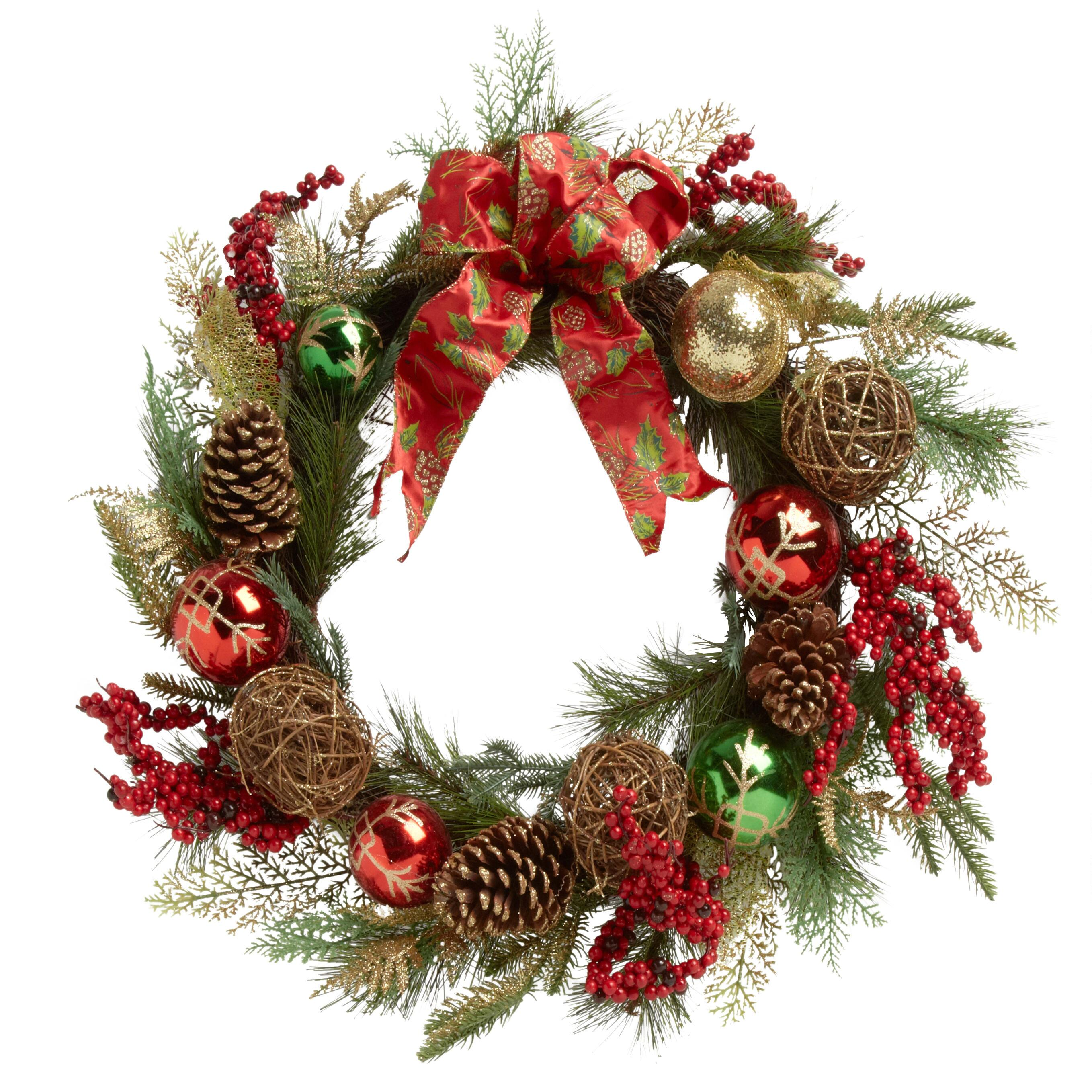 21 christmas tree wreath