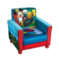 Childrens Upholstered Chairs Gaming Chair With Cup Holder Disney Mickey Mouse Children S Christmas Tree Juvi Uphls Chr