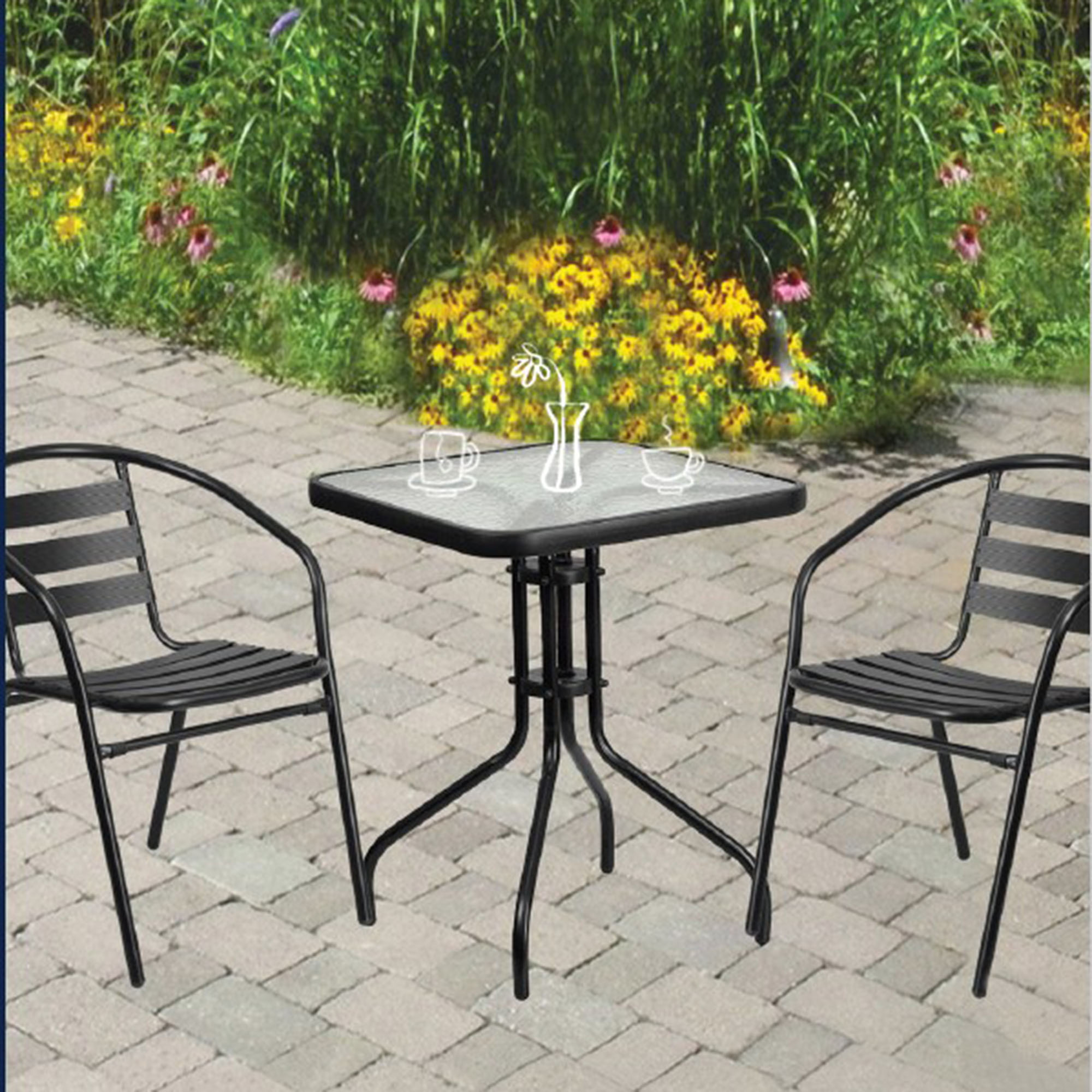 richdale 3 piece bistro patio set