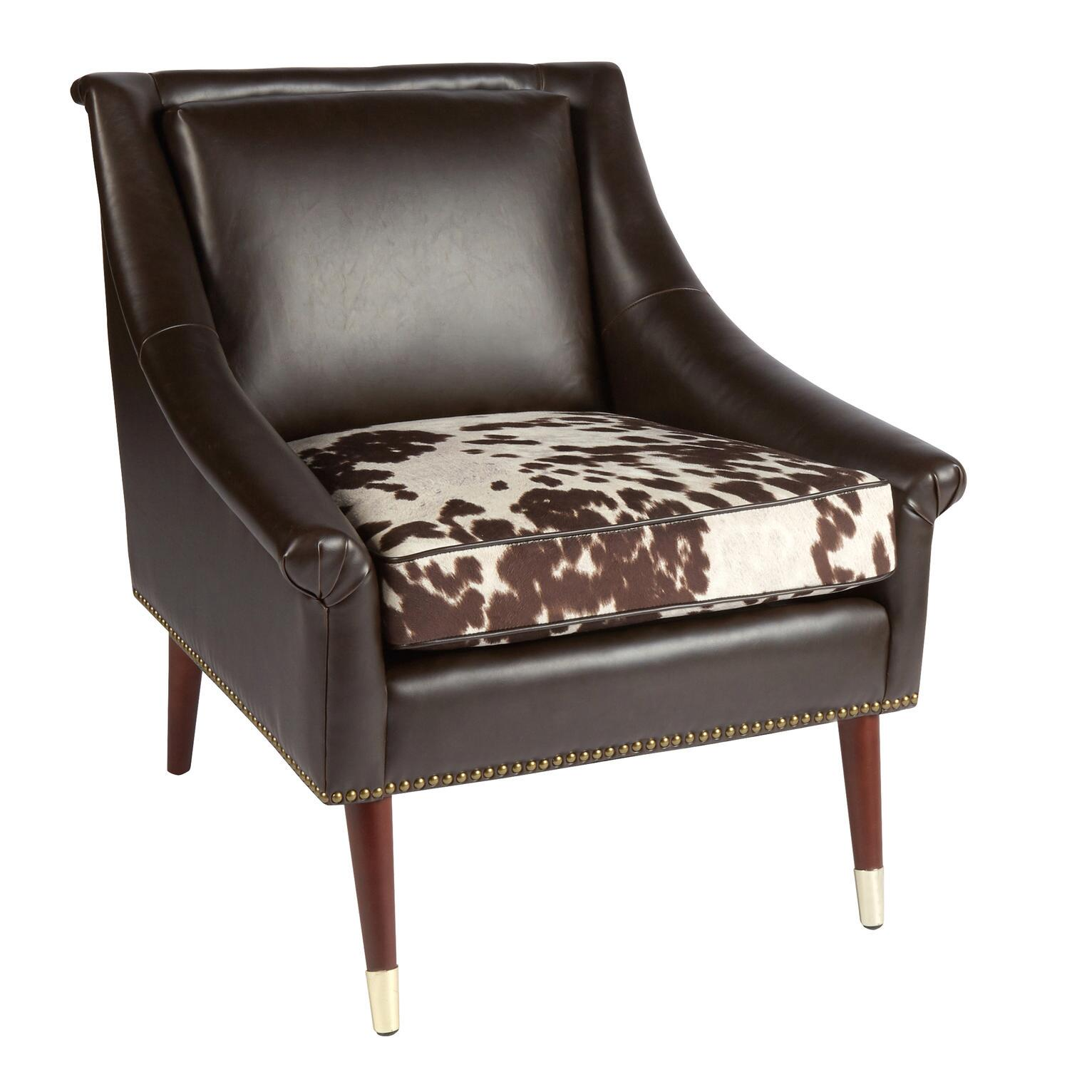 cow print chair and ottoman slipcover faux leather accent with cushion christmas tree shops that