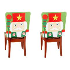 Christmas Elf Chair Covers Hanging Homestore And More Holiday Nutcracker Set Of 2 Tree Shops That