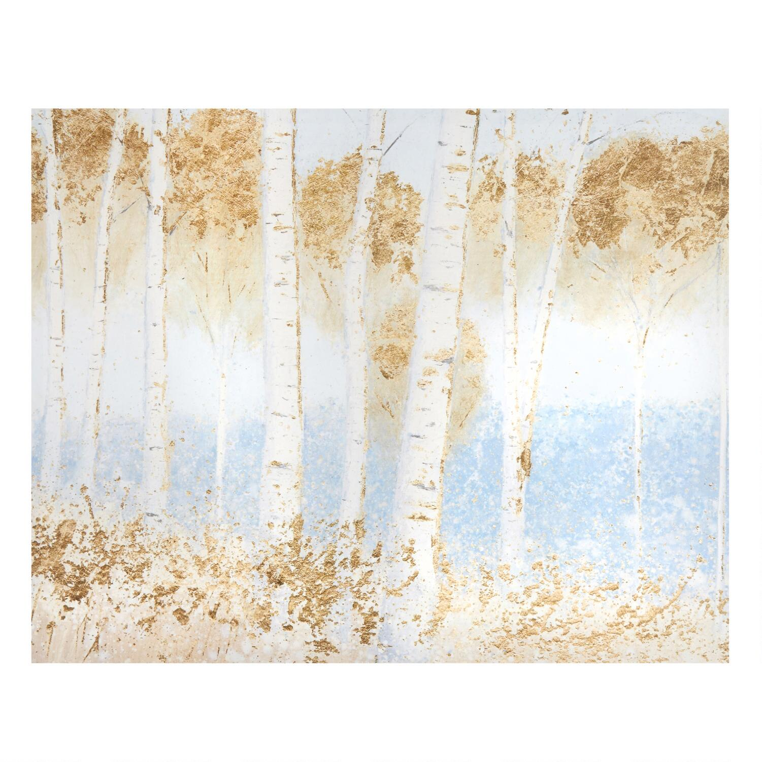 x white birch trees canvas wall art christmas tree shops and